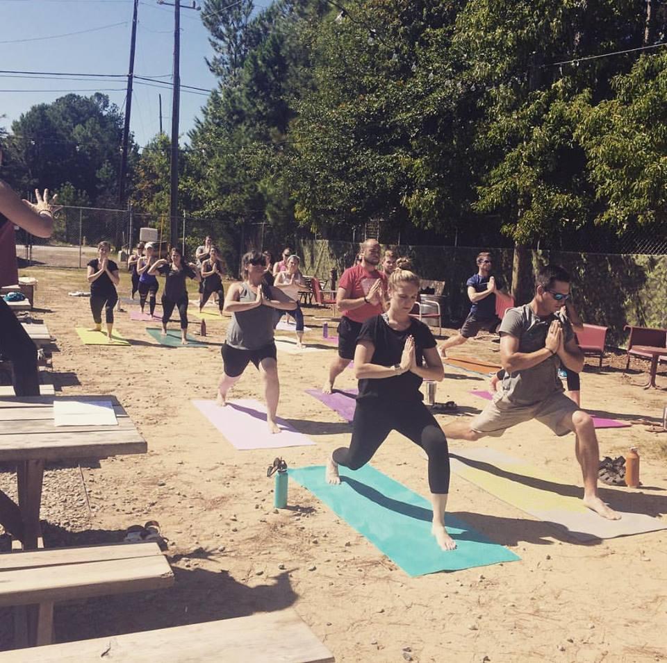 Detox/Retox with Yoga Squad at Lynwood Brewery!