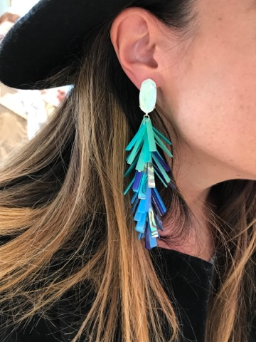 My tiny ears tried on these beauties 😍