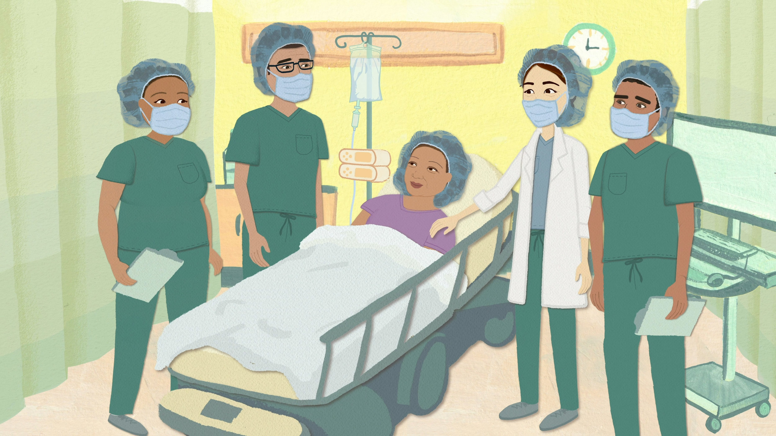 UCSF anesthesia explainer video. Animation studio San Francisco Bay Area.