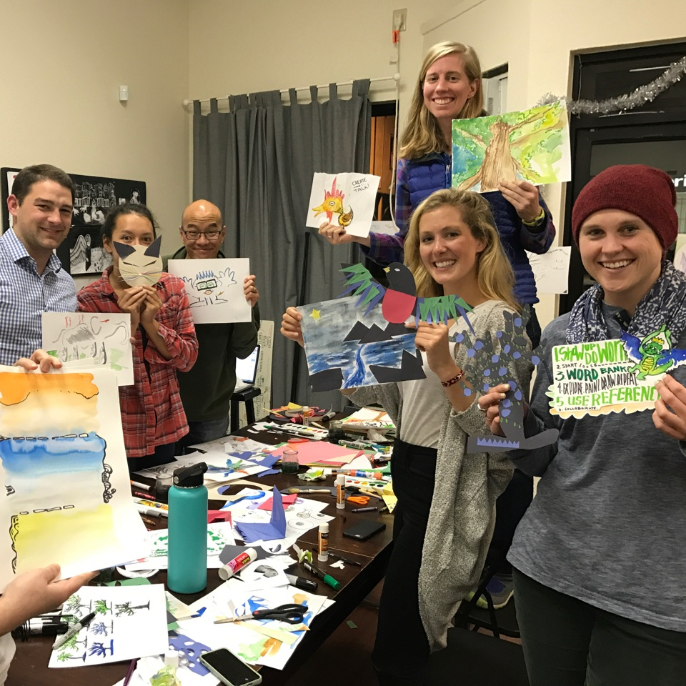 "BREAKING FEAR - Too often, ""creativity"" is intimidating. This class is designed to ""break"" your creative fear and to empower you to take chances and have fun!"