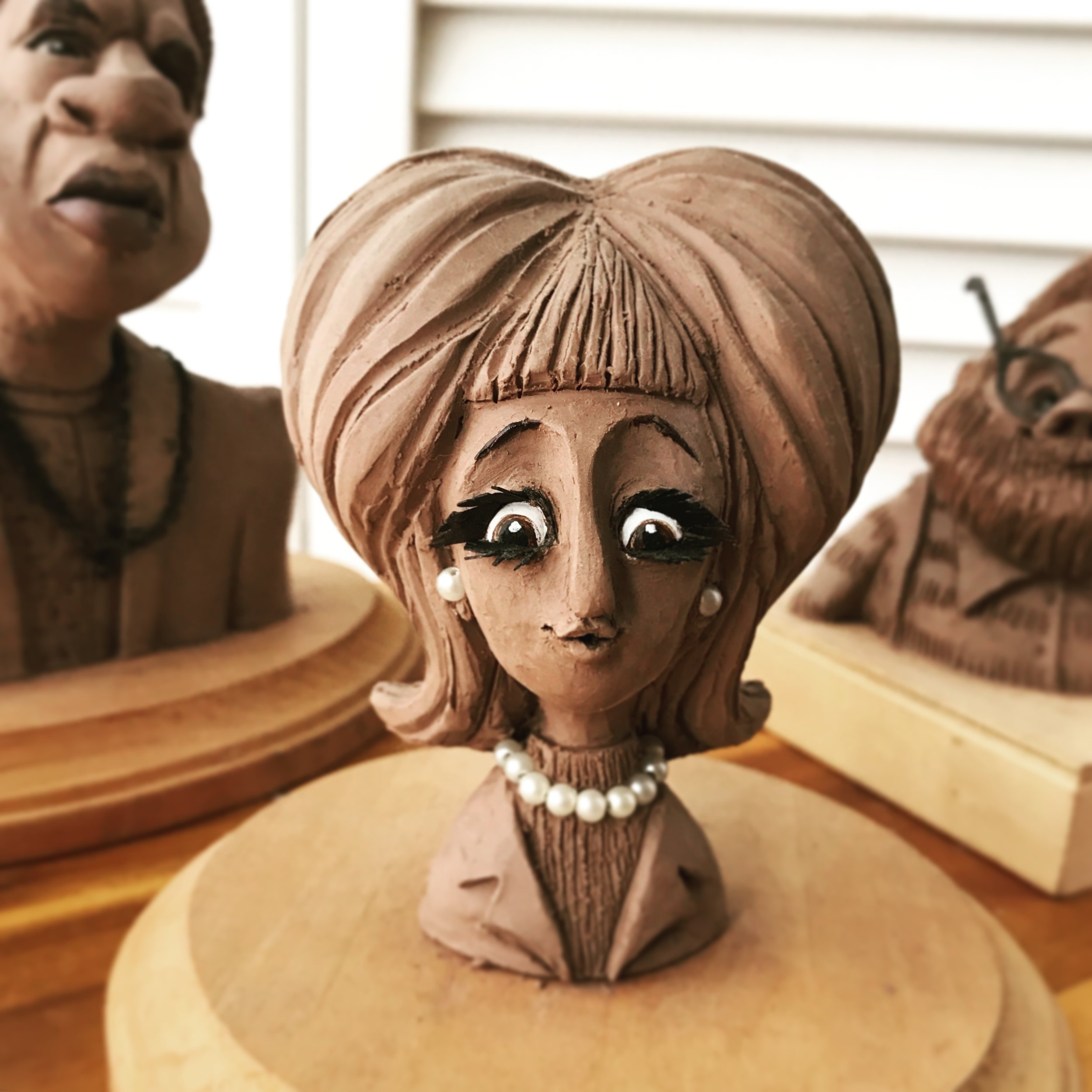 CHARACTER SCULPTURE - In this class, you'll sculpt your very own character out of clay. Through step-by-step instructions, you'll use traditional sculpting techniques and tools to make playful, kooky characters.