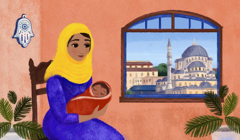INSHALLAH_Mom with baby.jpg