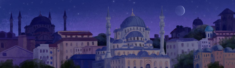 cityscape digital painting