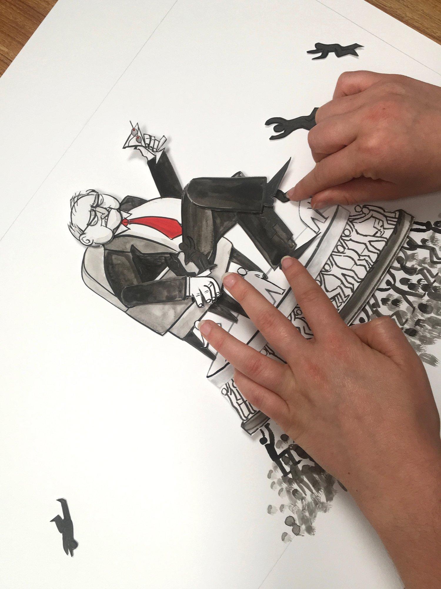 Multimedia illustrated video for MIT Community Innovators Lab.