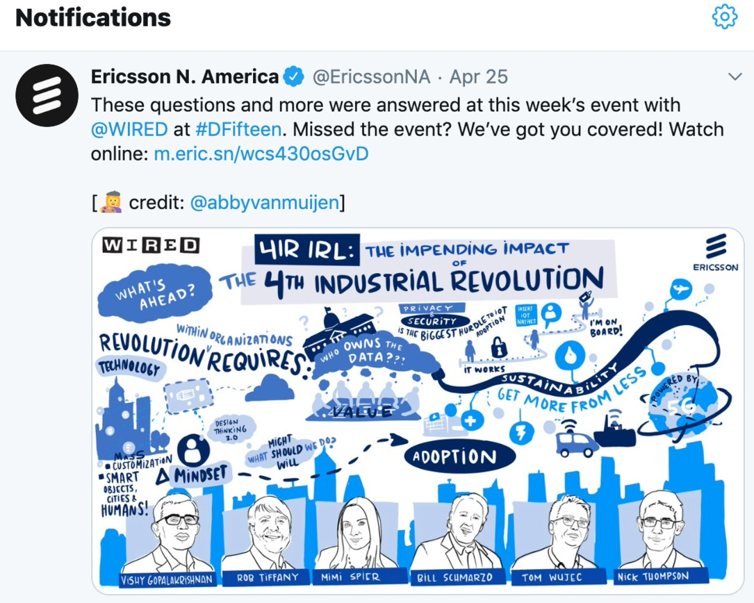 Digital graphic recording for Wired Magazine. Bay Area live artists.