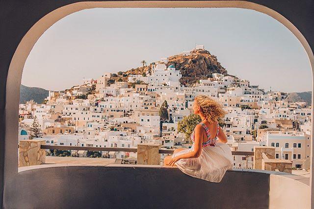 Ios room views✨ backflips on socks, deserted beaches, island hopping, cliffjumps, Greek table dancing. Trip through the Cyclades was pretty memorable 💛 . . . . . . #greece #iosgreece #cyclades #bestvacations #portrait_vision #ig_color #portraitgames #europe #roadtrip #travel #beautifuldestinations #ig_travel #lensbible #portraitvision #travelstoke #adventureculture #exploretocreate #roamtheplanet #aroundtheworld #passionpassport #islandlife #girlswhotravel #summer #earthofficial