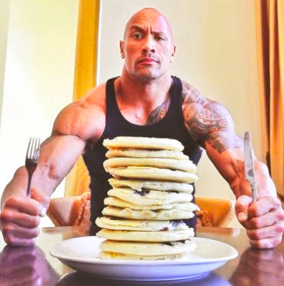 Good enough for The Rock, good enough for me!
