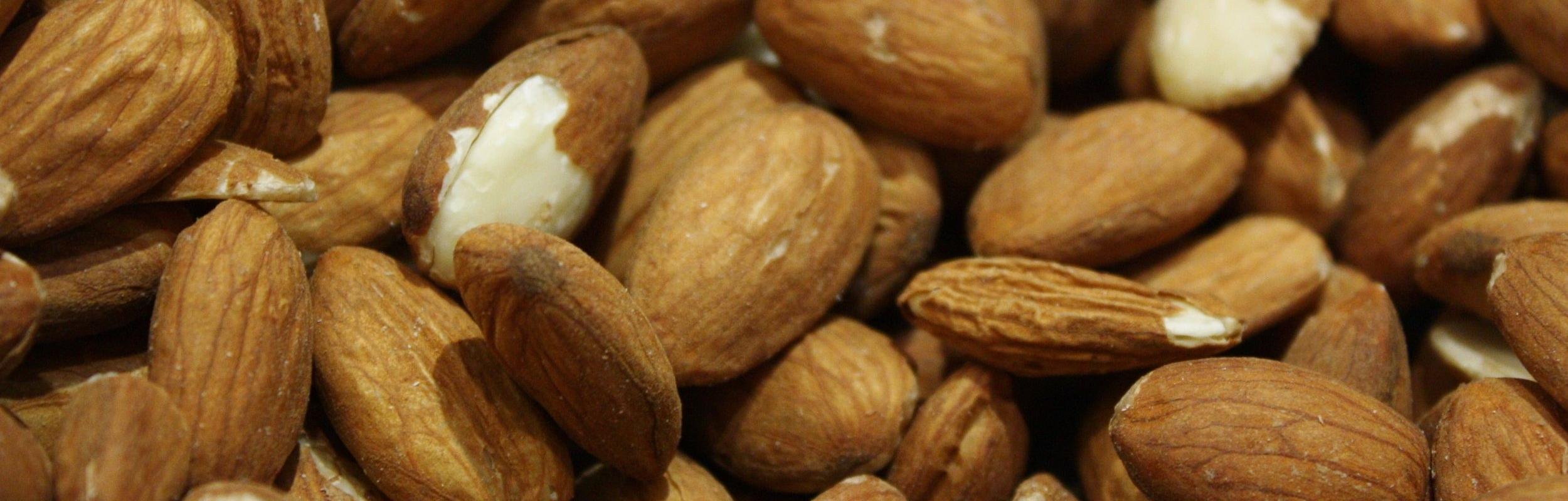 Almonds energy