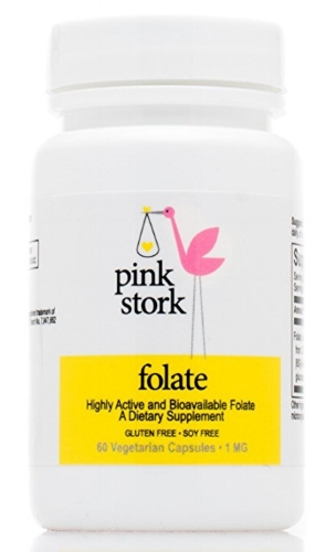 Pink Stork Folate