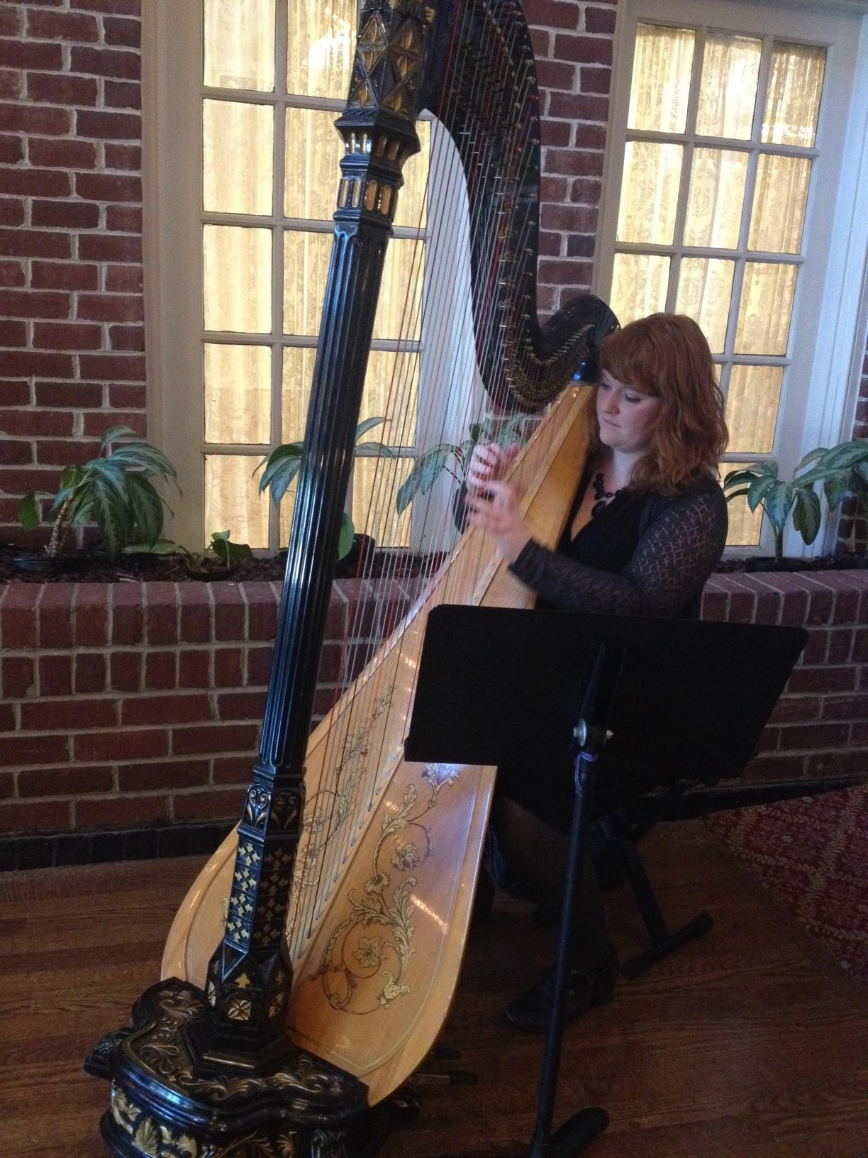 Laura Stokes Harpist