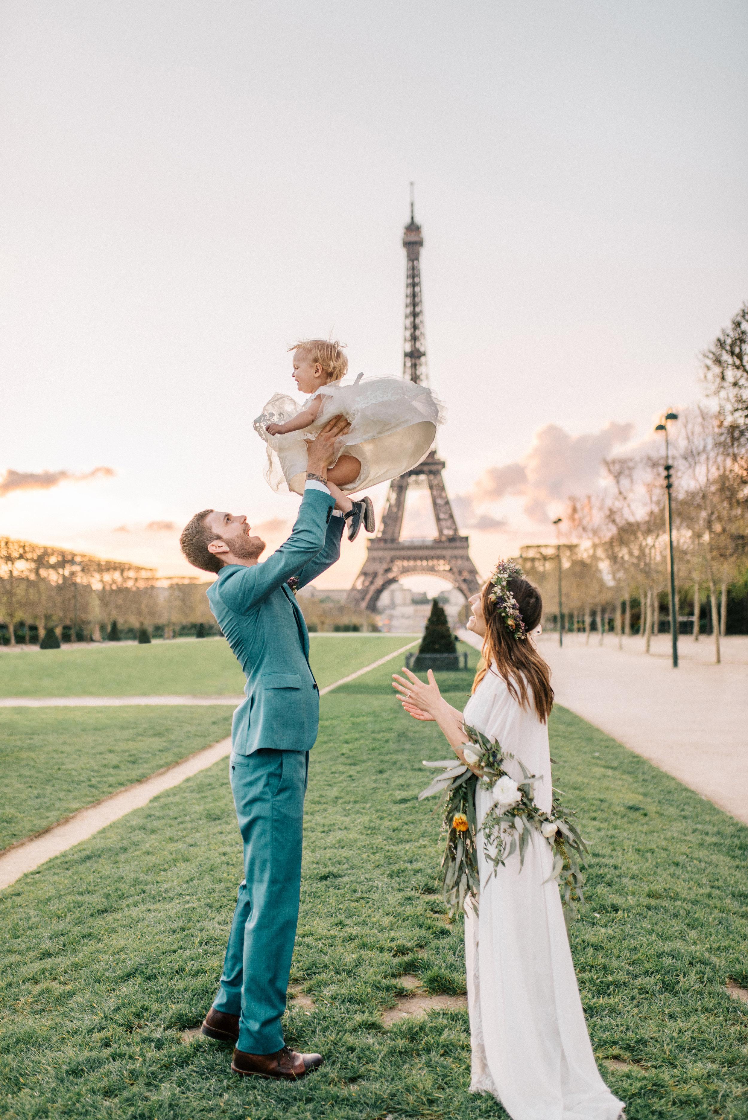 paris, france wedding photographer