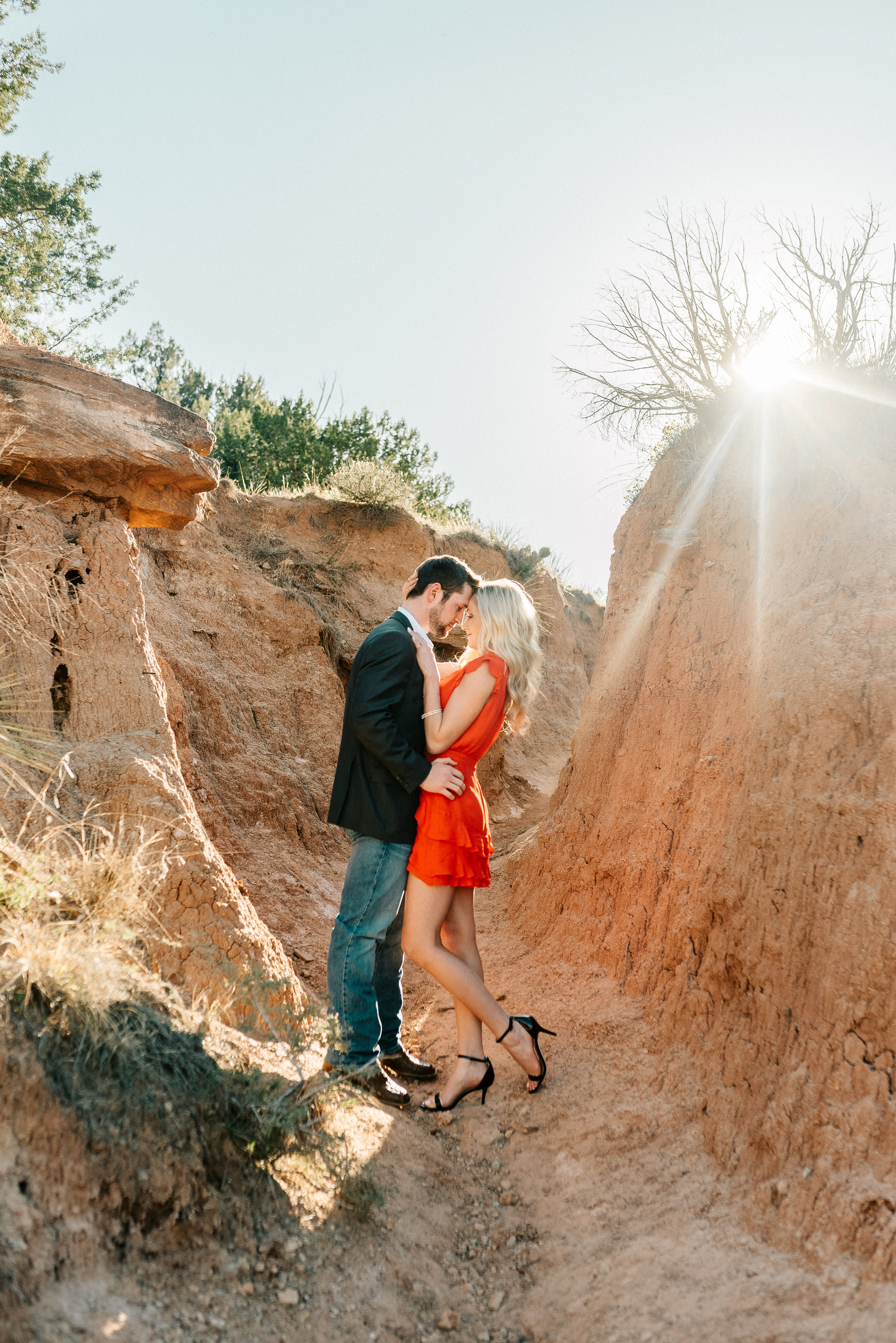 palo duro canyon engagement session