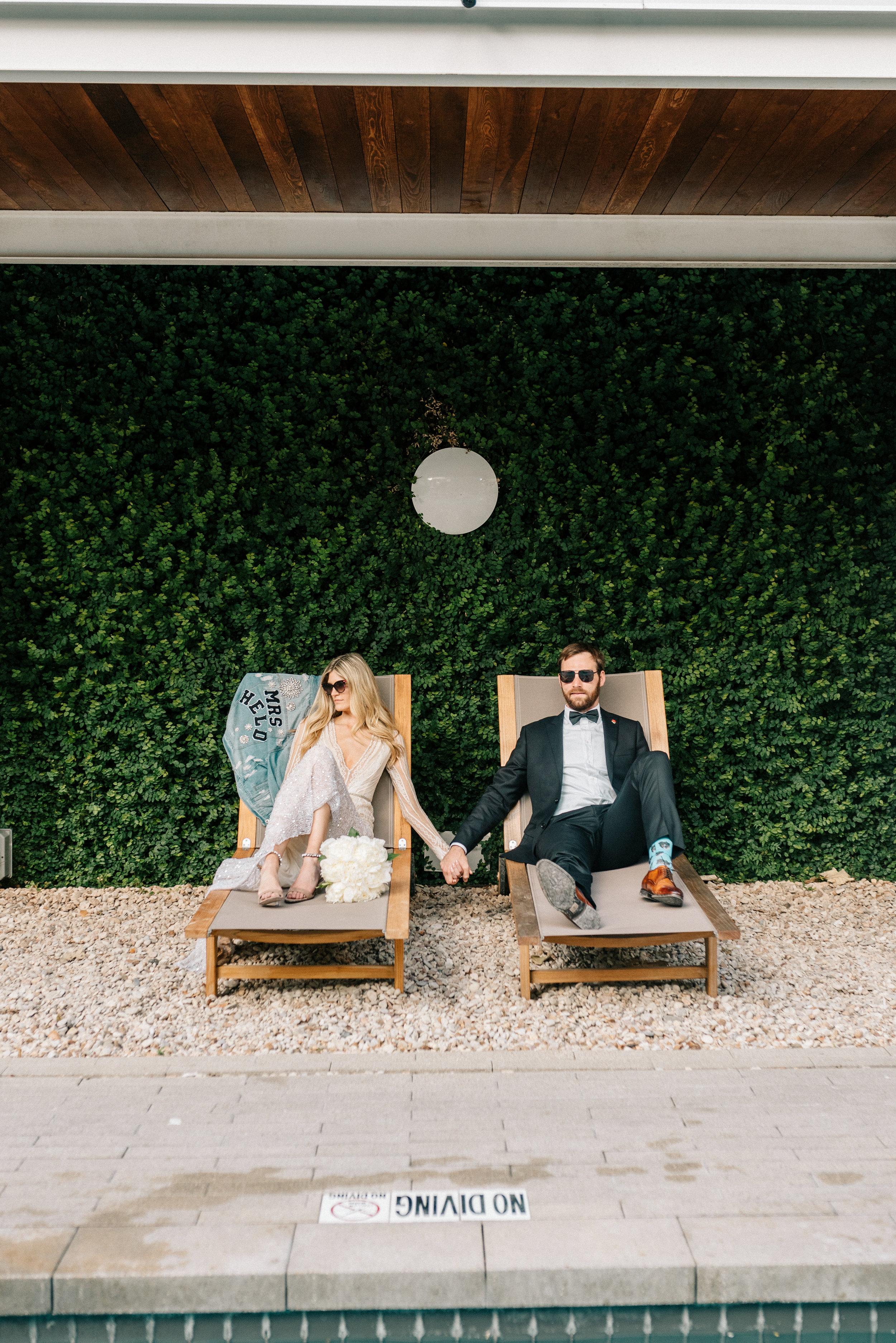 Tess + Nicholas Austin Texas Hotel Ella Wedding