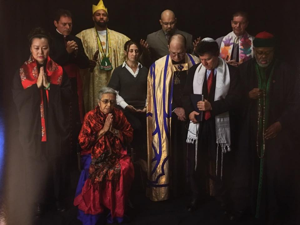 I am Grateful to be chosen to represent Ifa in this photo of Religious Leaders of New York.