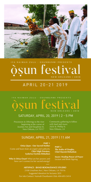 OSUN FESTIVAL IN NEW ORlEANS, LA- APRIL 20-21, 2019 — 256
