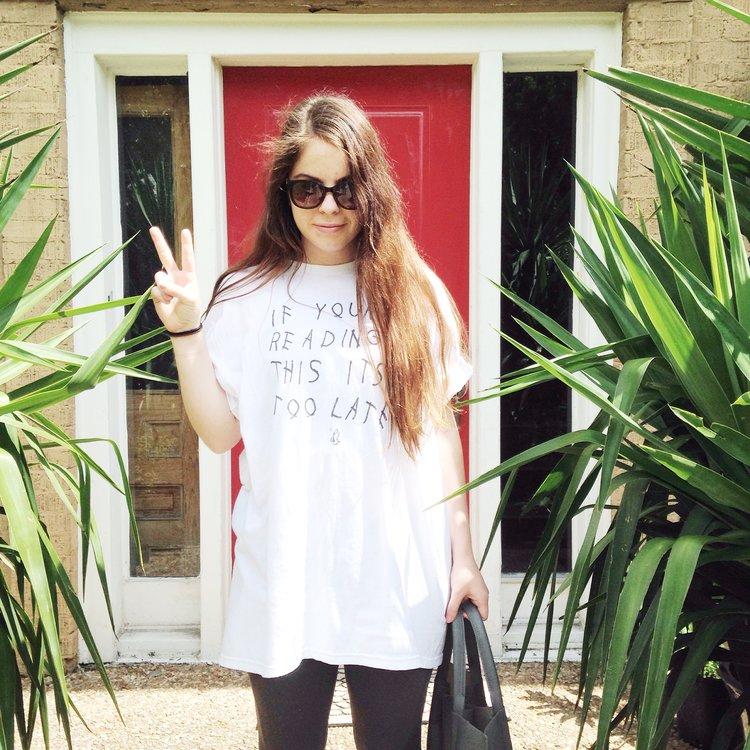 Jade Abner. May 2015.