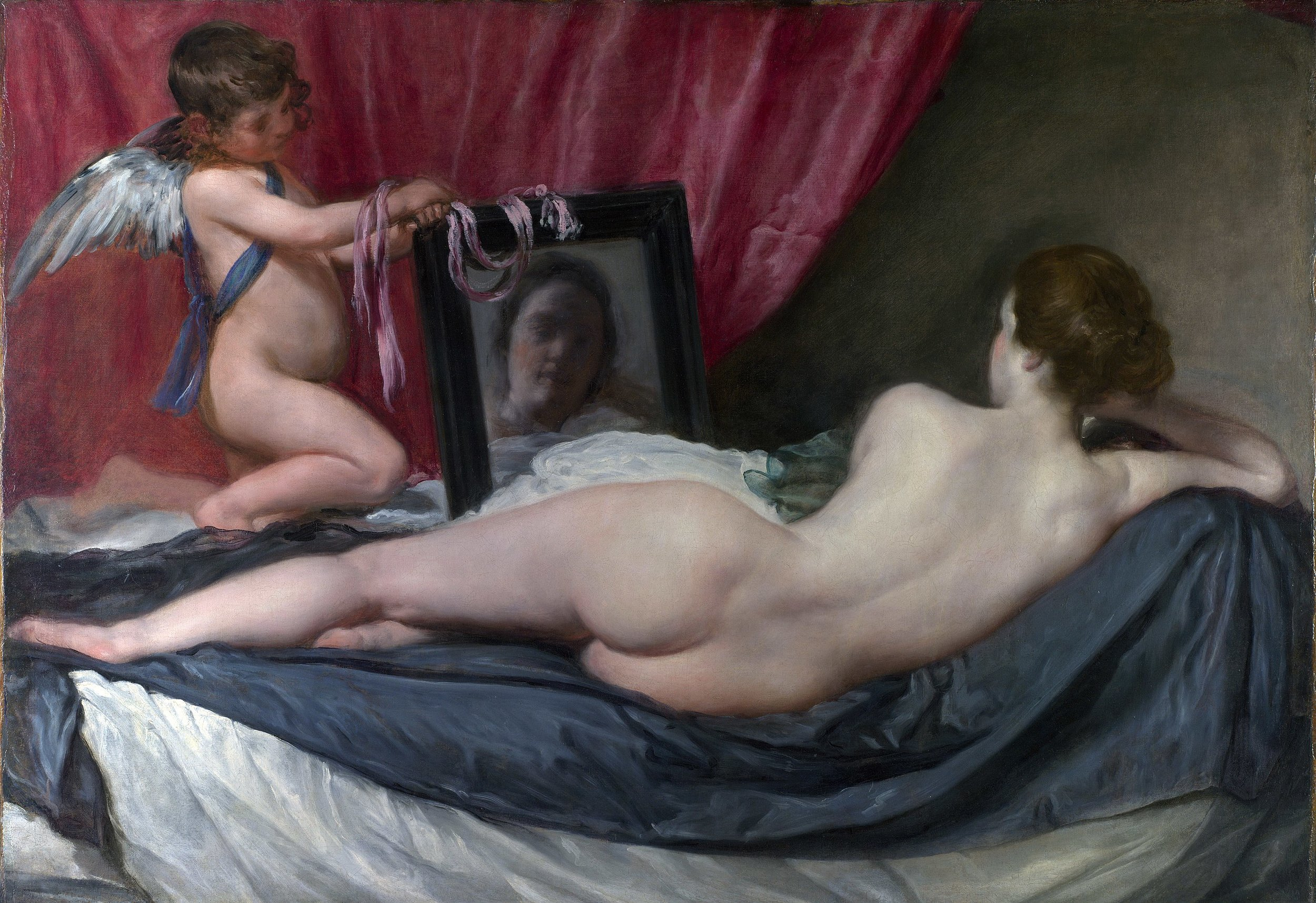 Pictured:  Rokeby Venus ,  National Gallery , London.