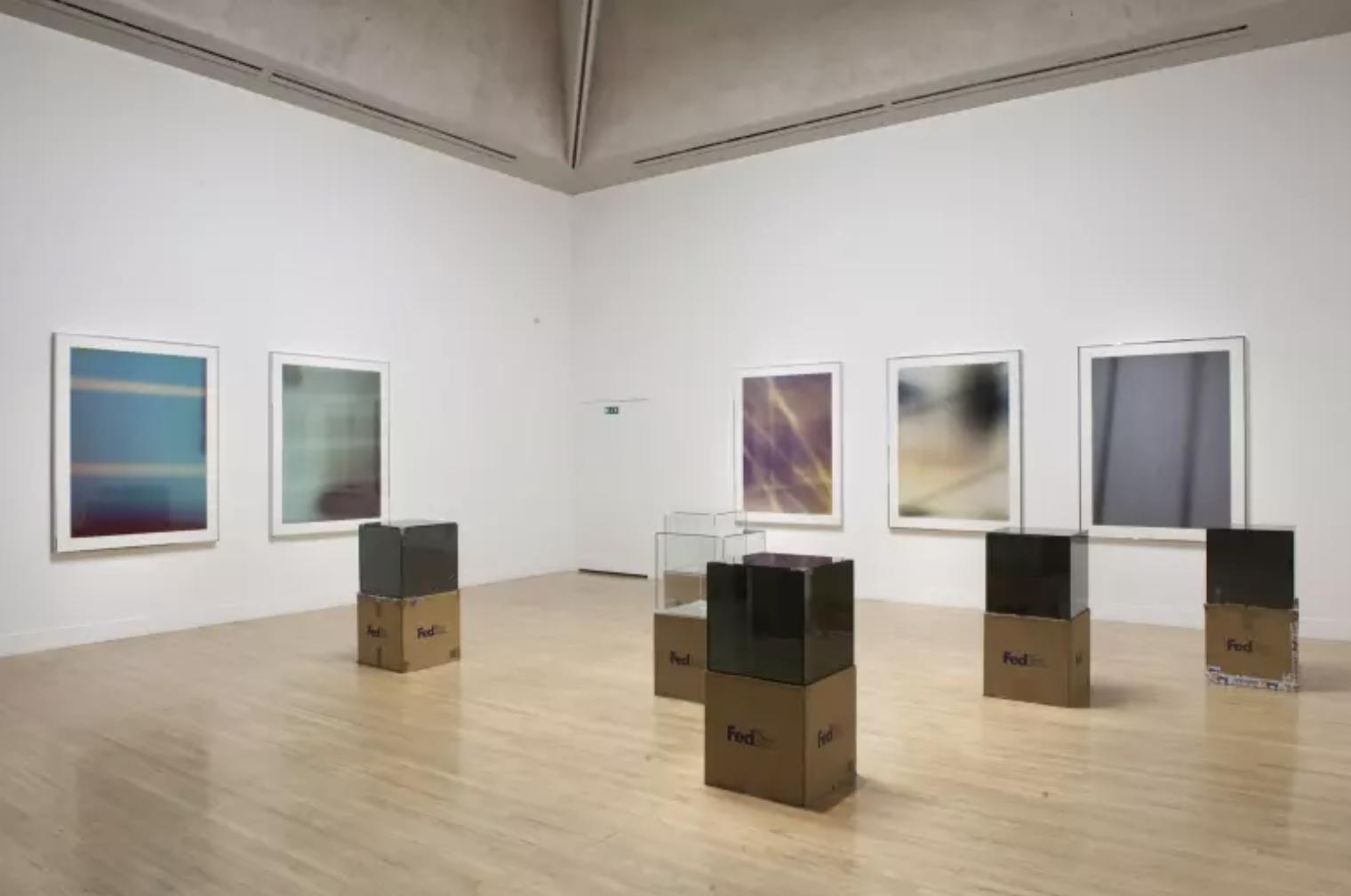 Walead Beshty,  Altermodern: The Tate Triennial  (2009)  installation view Tate Britain, London