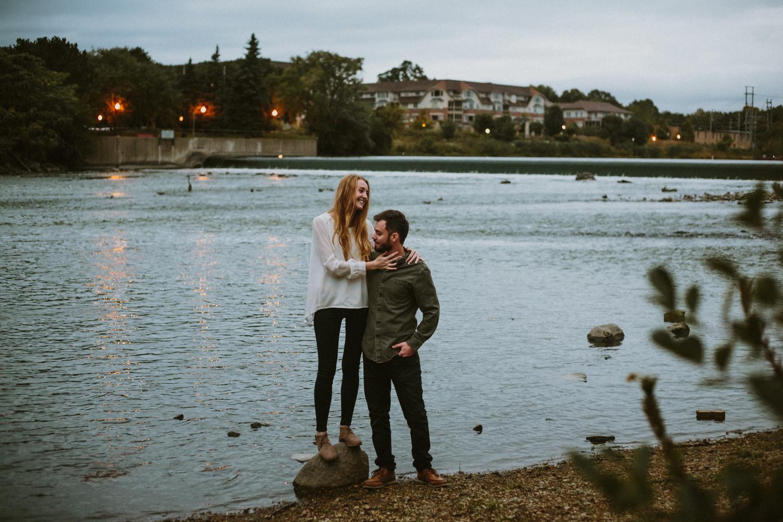 taylor & jon | geneva engagement photography