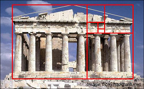 The Parthenon - The Golden Ratio. Just because I love it.