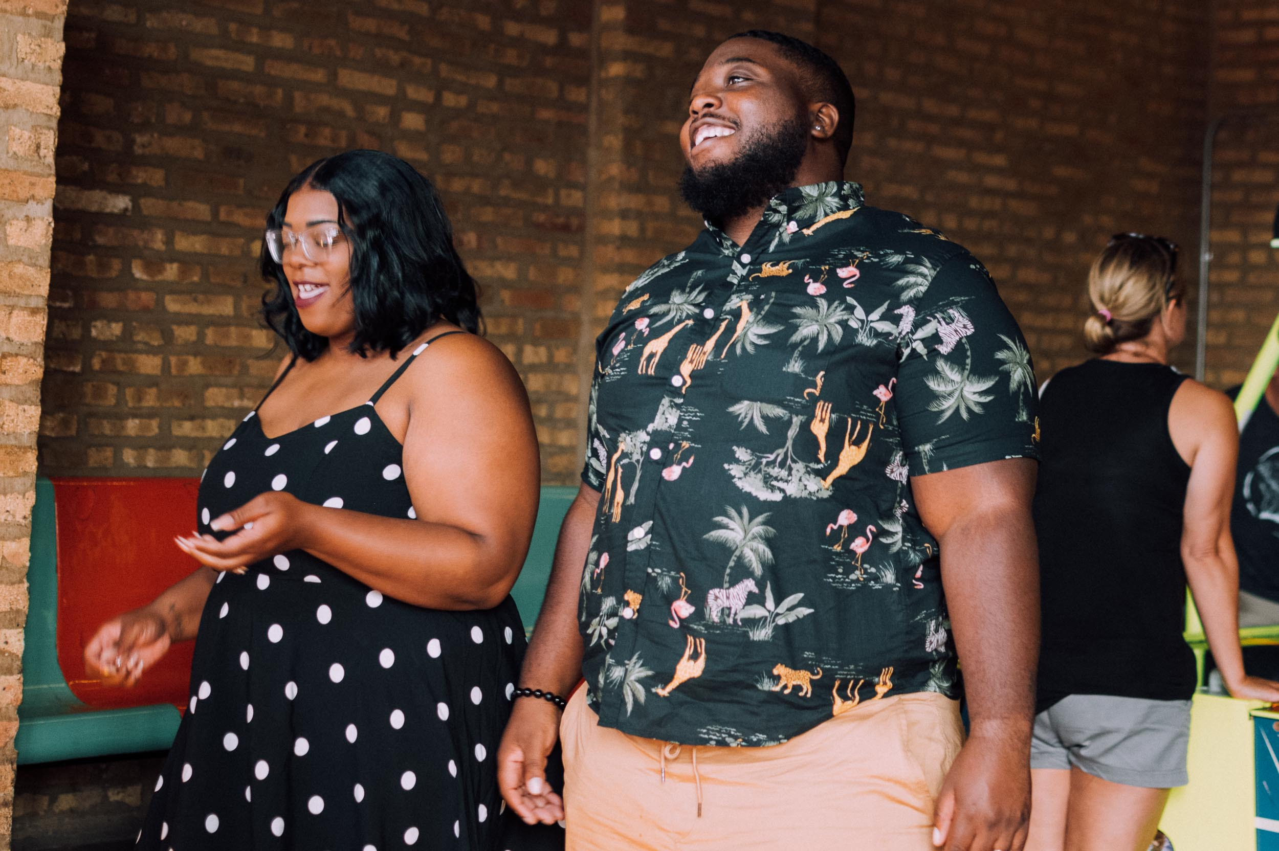 Logan Square, Chicago Elopement at Logan Emporium shot by Captured by Bianca 2019