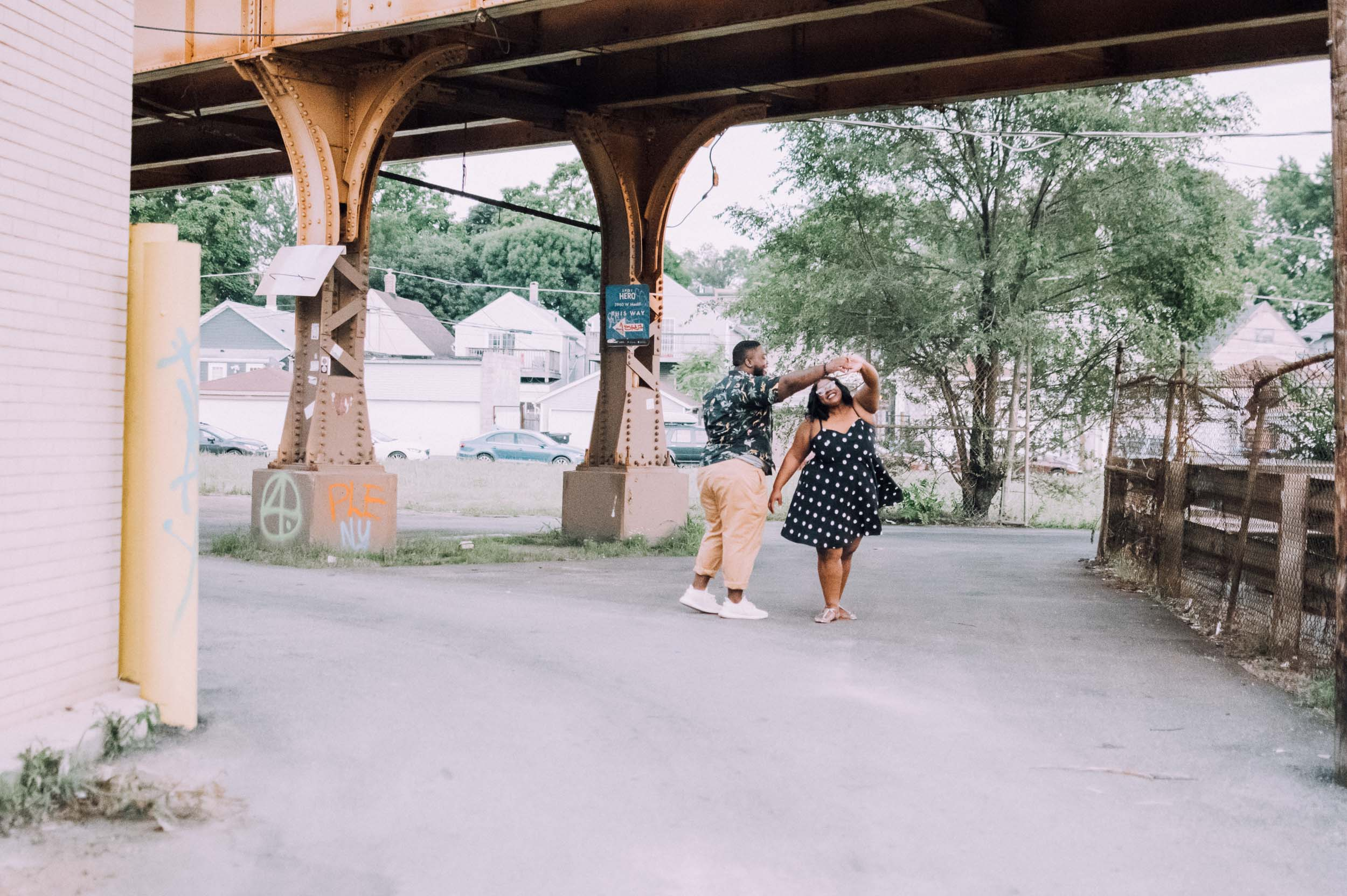 Logan Square, Chicago Elopement shot by Captured by Bianca 2019