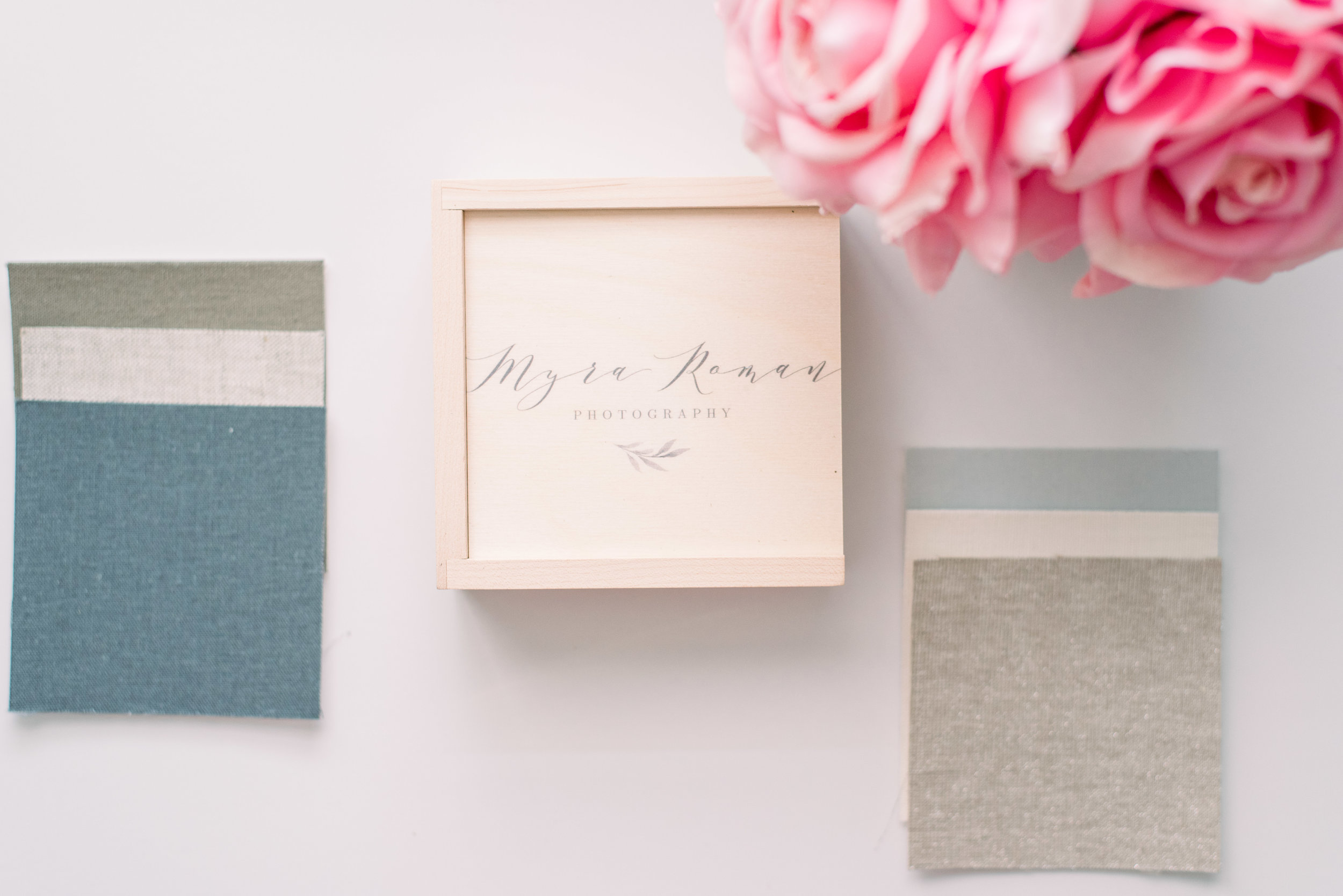 Linen Albums - mainly use for engagement sessions, family, maternity and seniors.