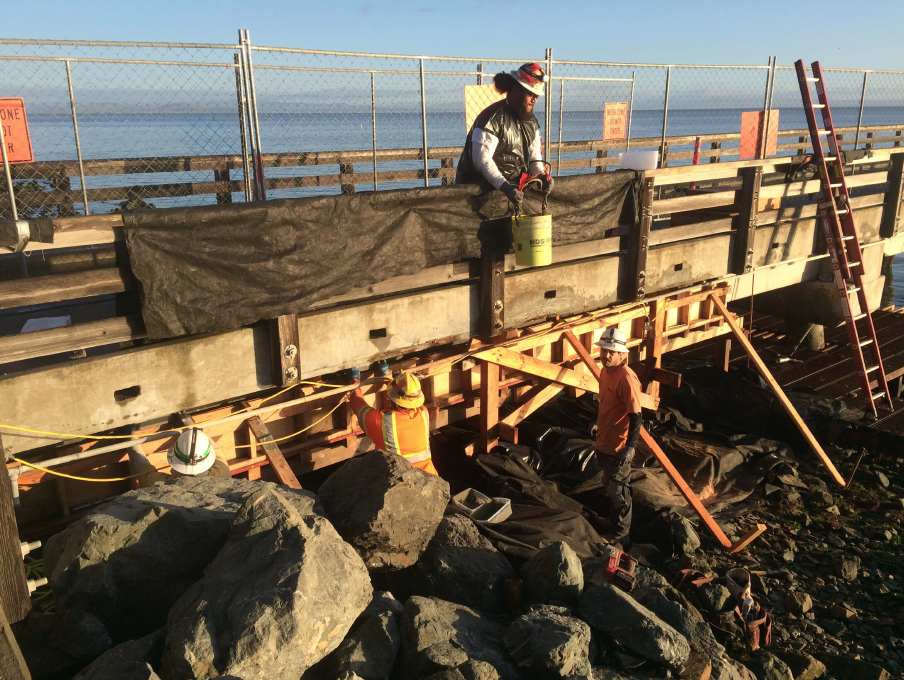 Repairing the Mc Near Pier in Marin County - Valentine Corp 4.png