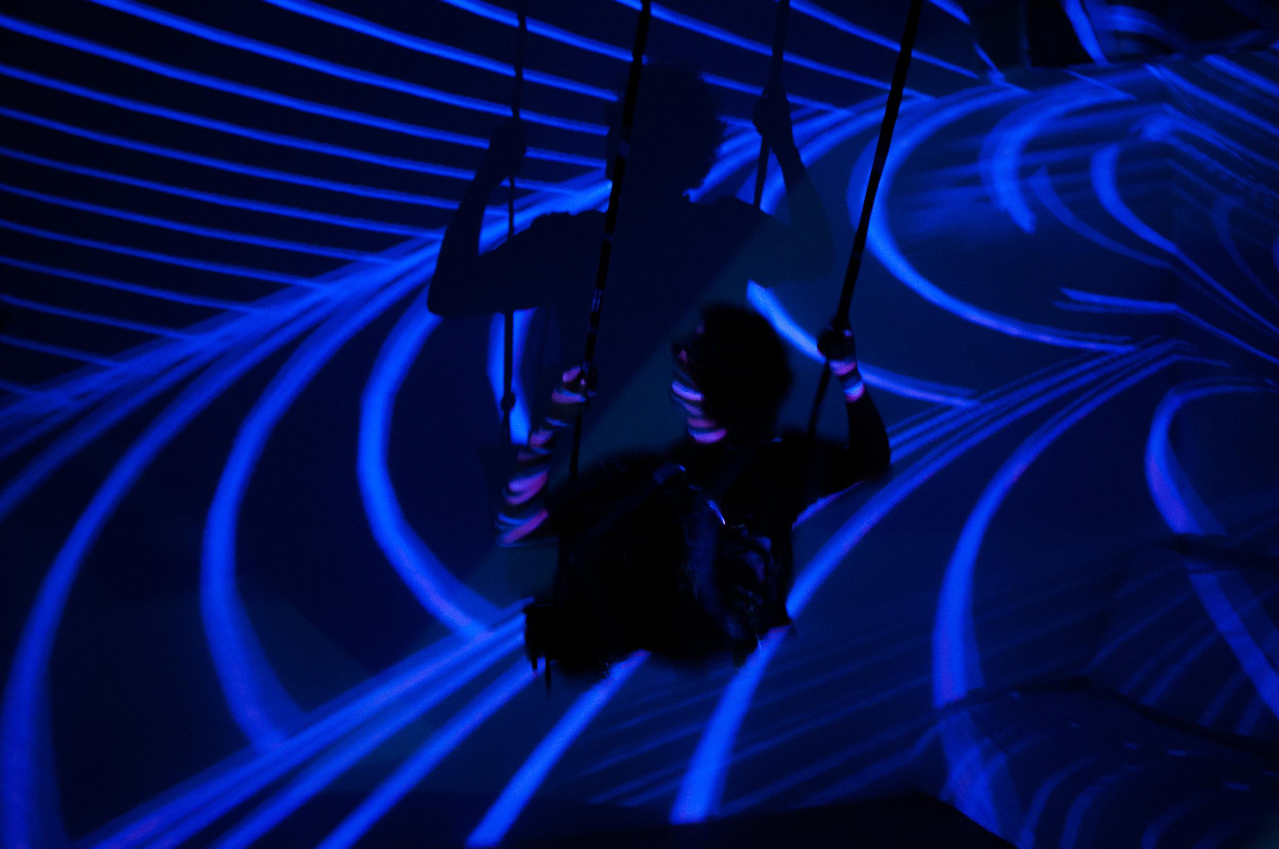 Pendula Interactive Art Installation at New Forms Festival
