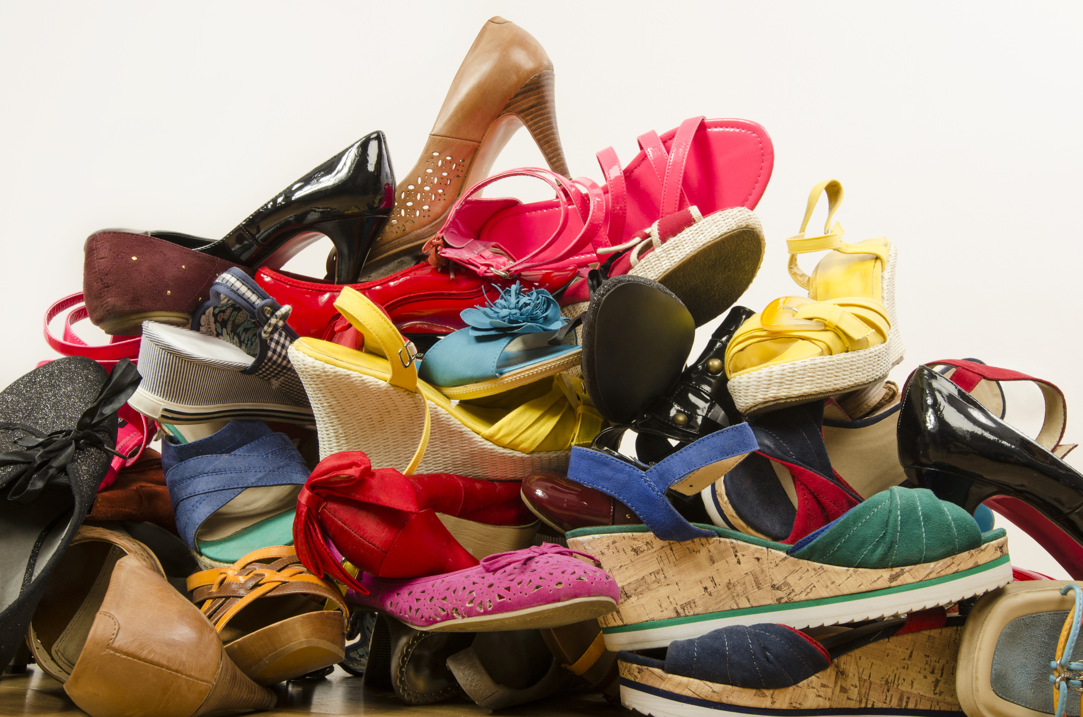 footwear - With all that extra space you have in the car you can get a bit more frivolous in your packing. Hiking boots, rain boots, runners, some stylish night out duds and flip flops (that hostel shower!), pack up the car with all the shoes you own and keep your feet happy!