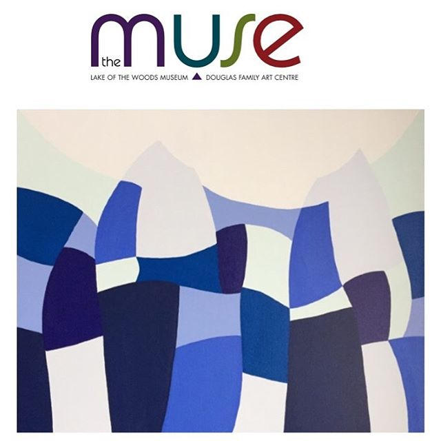 So excited to hear that 'Interwoven' was accepted by jury into 'THE ARTISTS' MUSE' Grand Opening Exhibition at ✨ 'The MUSE - Douglas Family Art Centre' ✨ opening October 20. The exhibition will run until December 24 in Kenora Ontario ✨ I received the news last week after spending a few magical weeks at Lake of the Woods with my family - a perfect way to finish our time there this summer. ✨ I've always been inspired by water and landscapes and this piece is a weaving together of visiting 20 summers at Lake of the Woods (and getting married there!), living on the West Coast by the ocean, childhood summers at my family cottage in Ontario and the backdrop of Lake Ontario at Queen's University where I studied art. ✨ Opening that weekend is also the main feature exhibition and inspiration for the new Douglas Family Art Centre ✨'The Gift of Art' ✨ an exhibition celebrating the generous donation by the Douglas Family of their extensive collection of artwork by Walter J. Phillips, who was inspired by Lake of the Woods. The collection will stay at Lake of the Woods, will be seen by everyone and the new art centre will be a gathering place for art and education. @themusekenora #lakeofthewoods #lotw #canadianart #canadianartist #themusekenora #canadianartist #thrivemastermind