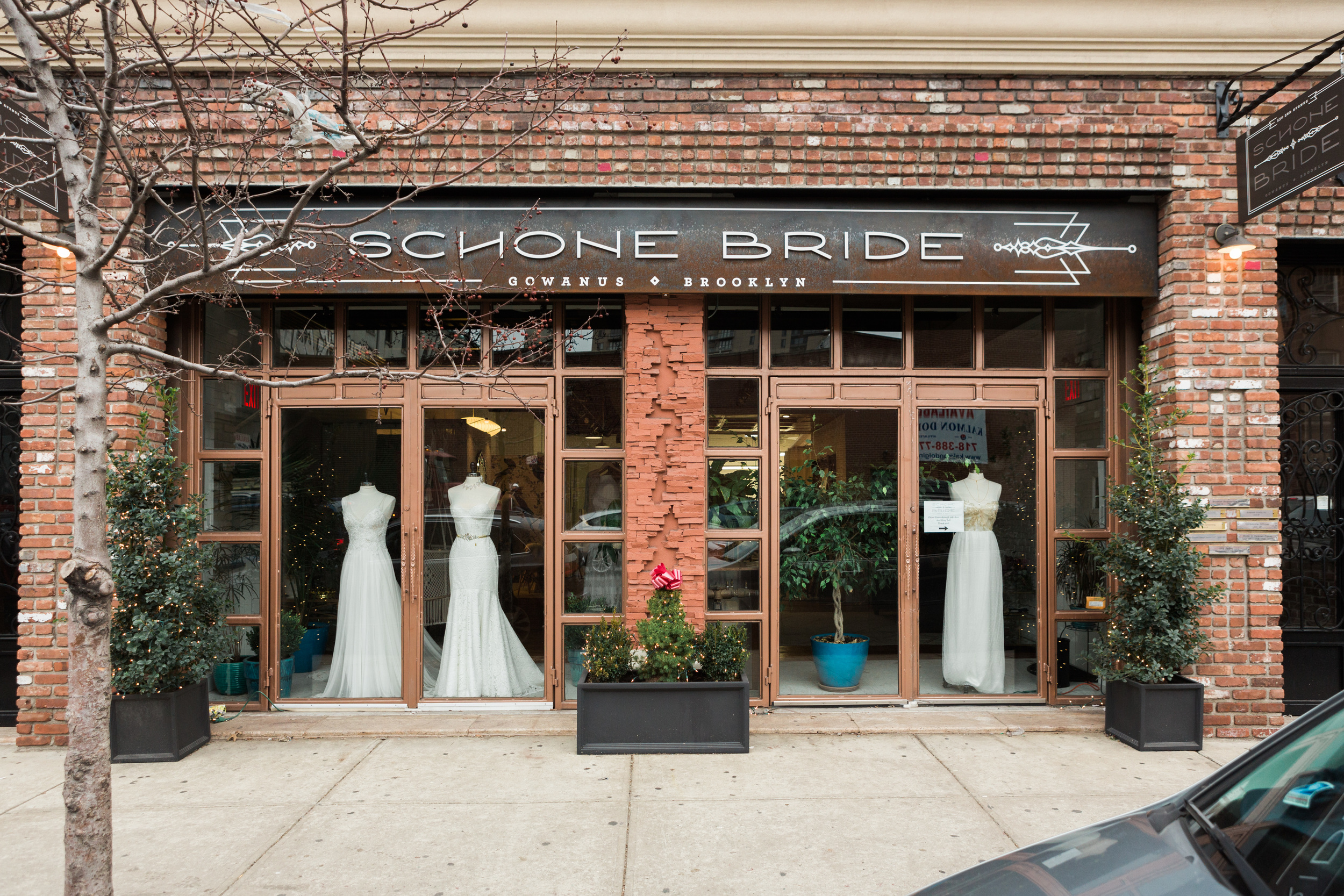 Our flagship boutique and design studio on 3rd Avenue in Gowanus, Brooklyn (photo by Diane Hu)