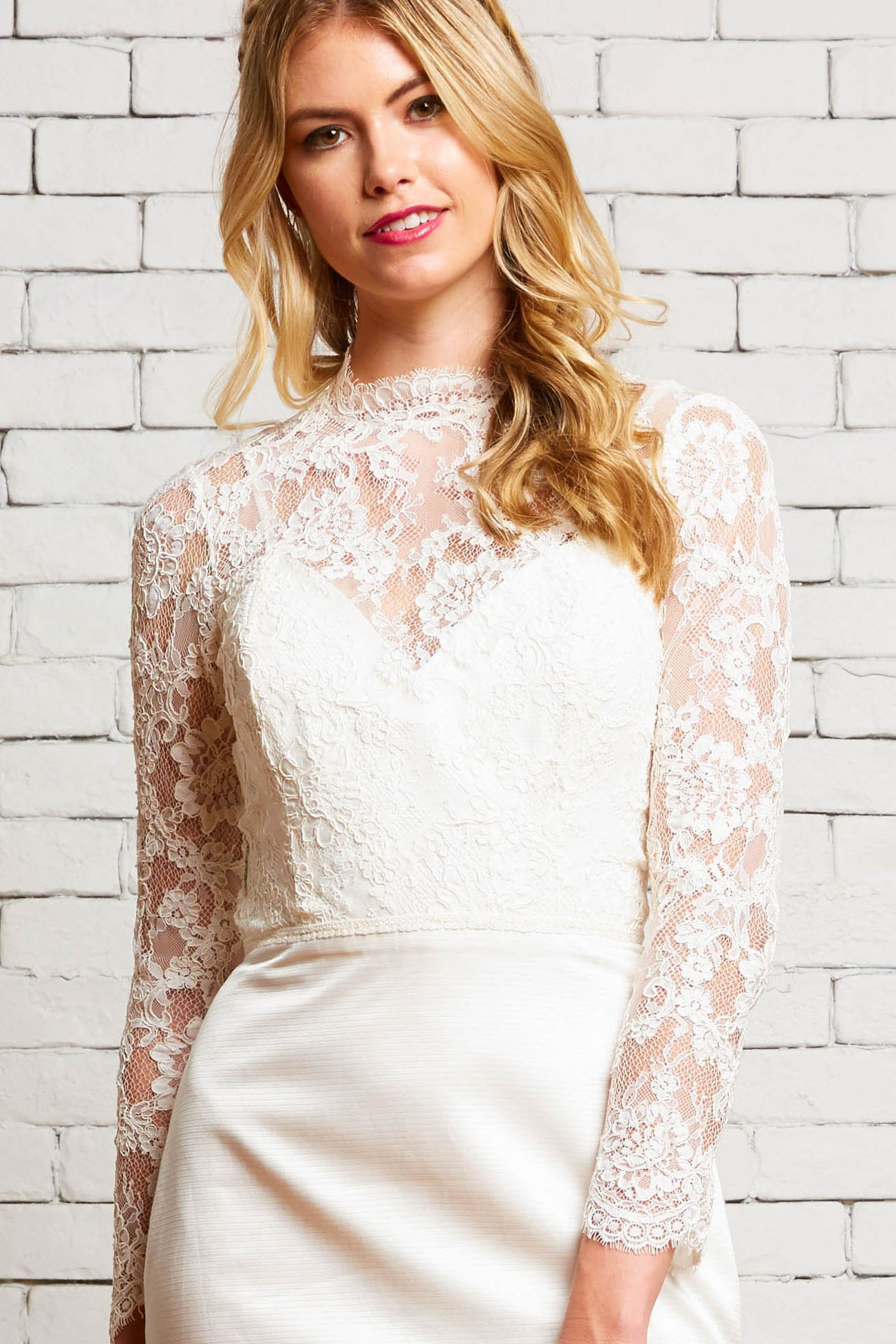 24A Victoria-Front-Rebecca Schoneveld-Modern_Lace_High-Neck_Long_Sleeve_Top.jpg