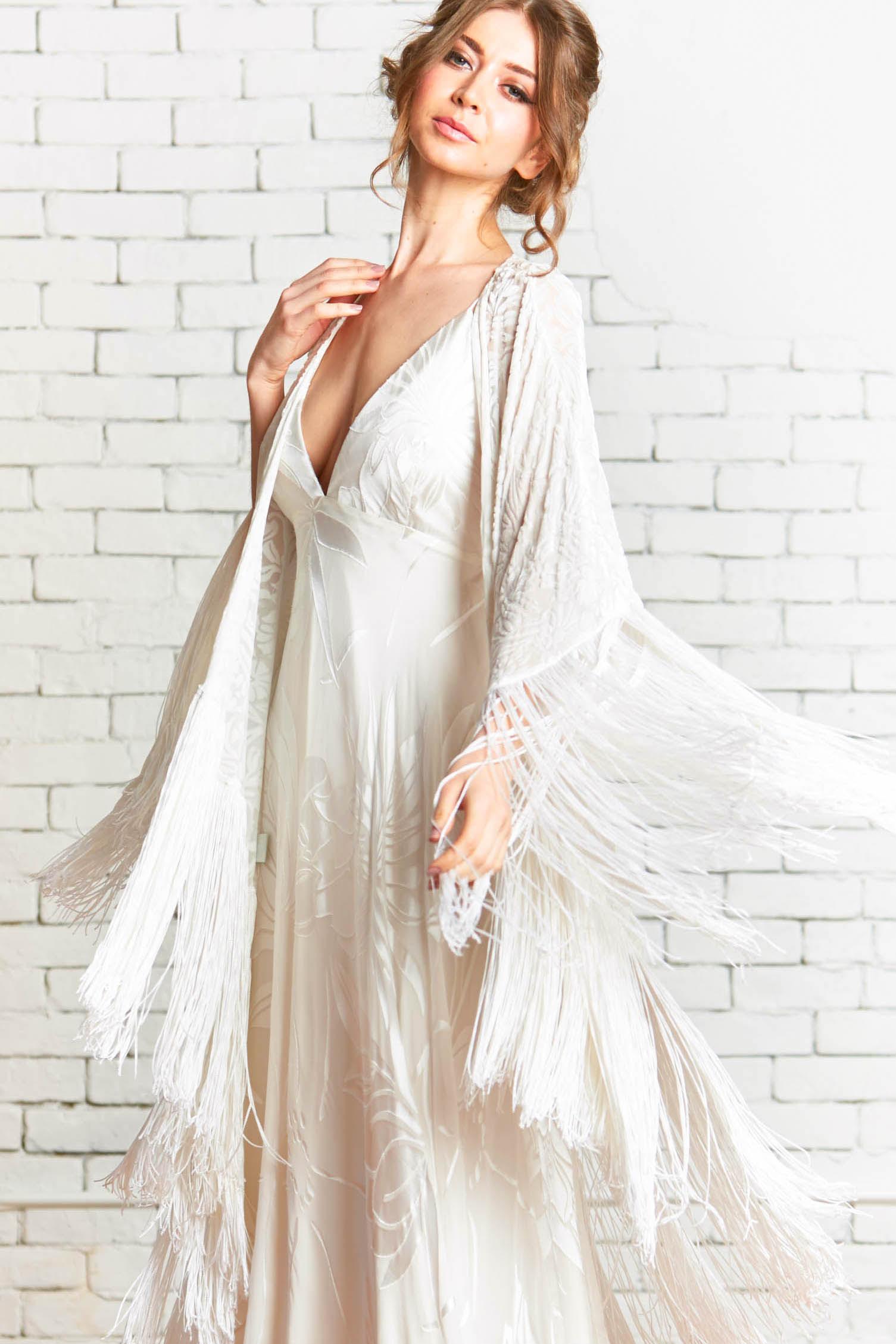 SiennaKimono_1front_Velvet_Burnout_Fringe_Boho_Kimono_Wedding_Coverup.jpg