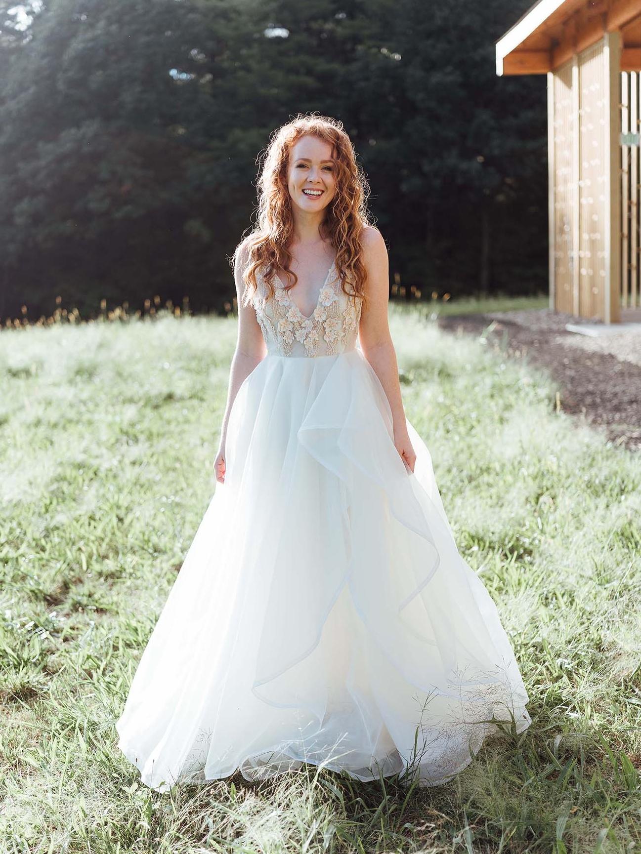 Iris Gown