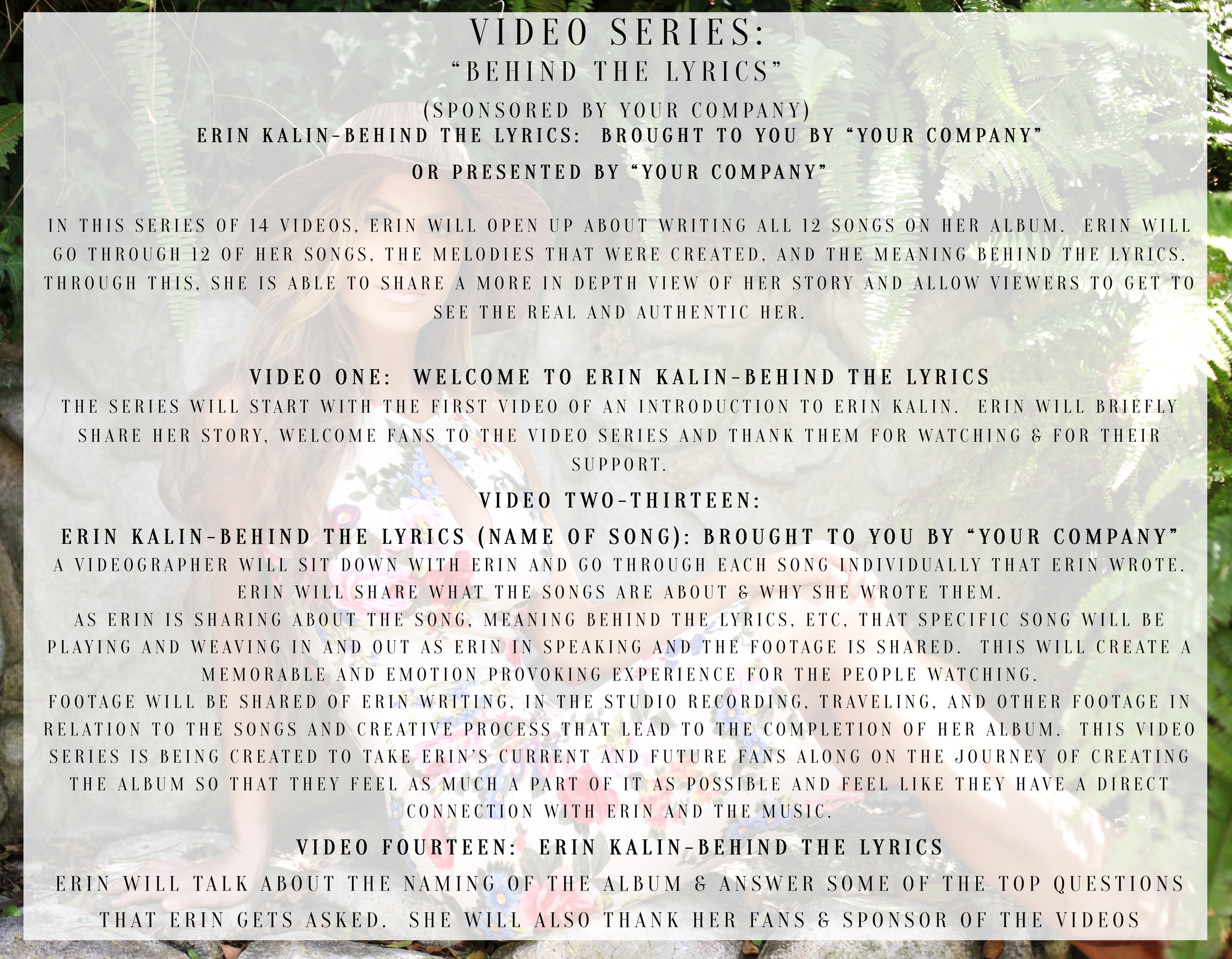 VIDEO SERIES: Behind The Lyrics