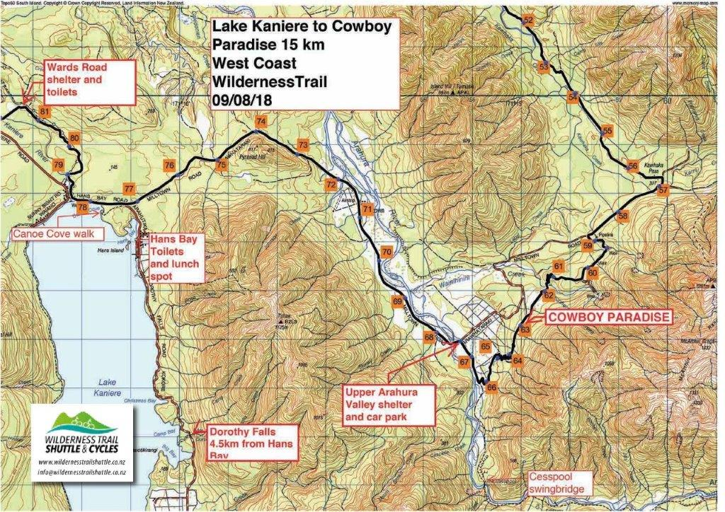 Lake Kaniere to Cowboy Paradise