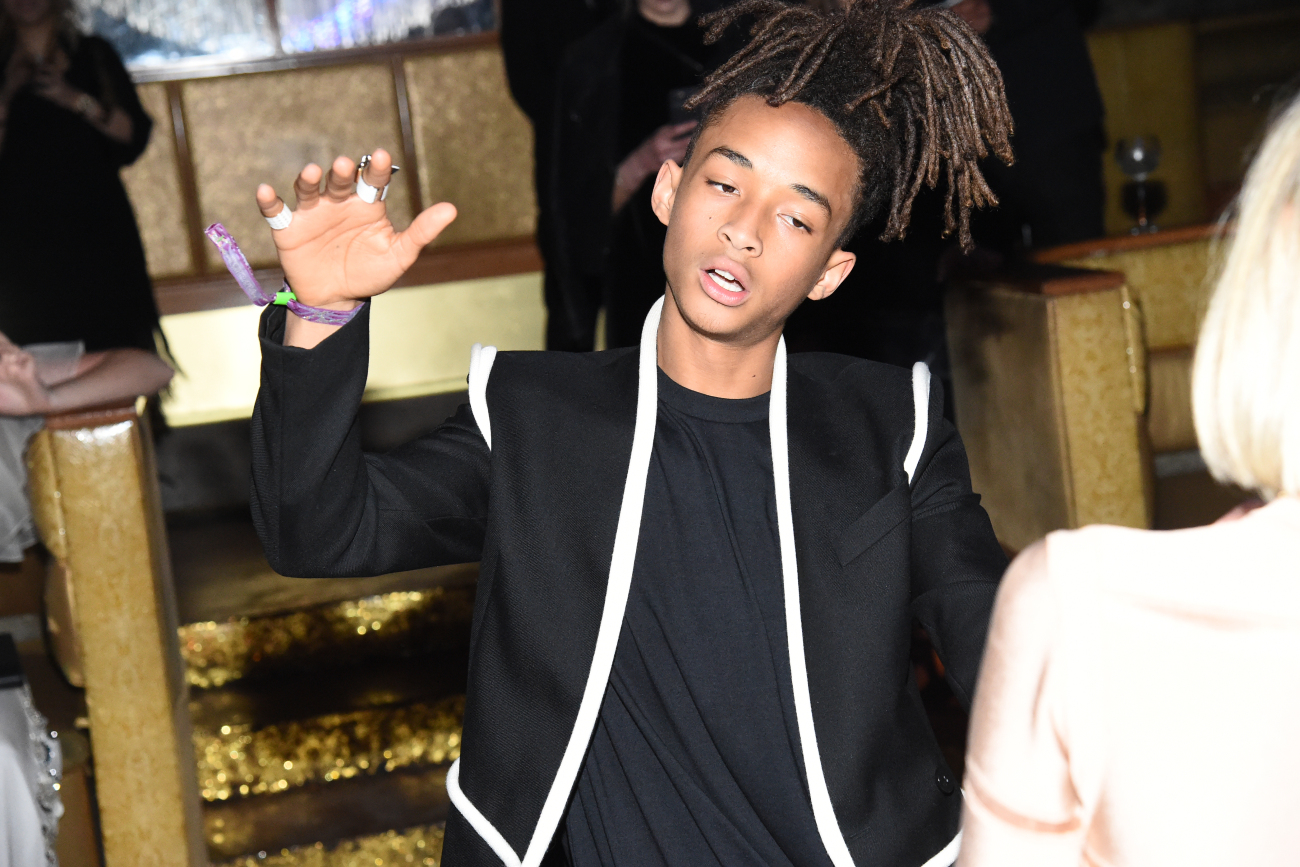 Jaden Smith at Gilded Lily 2016 Met Gala Balmain After Party