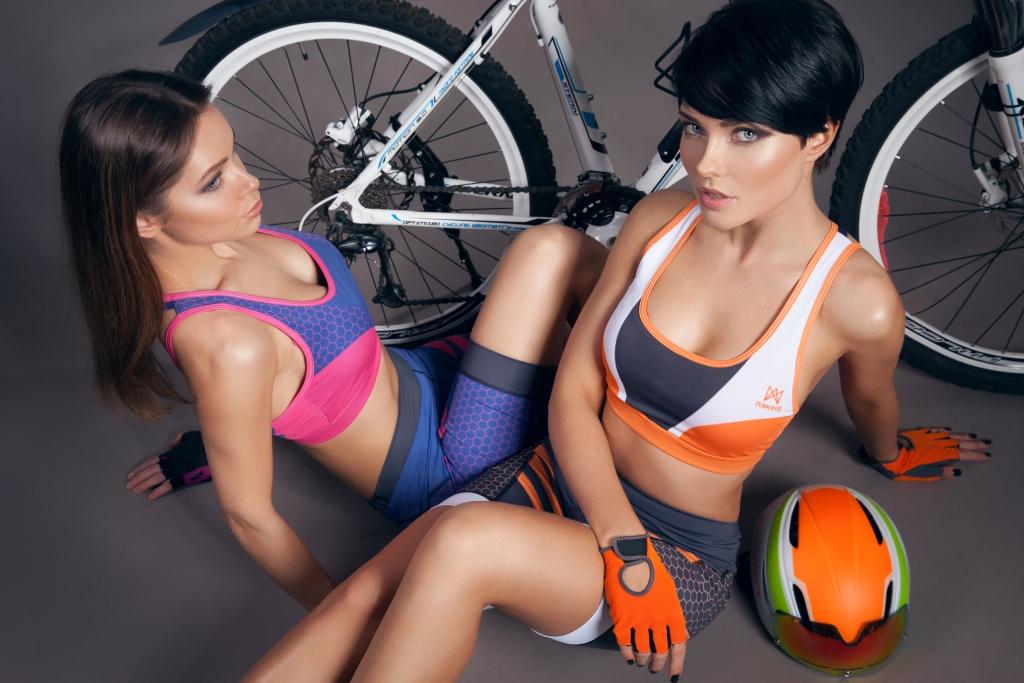 Orange and navy/fuchsia tops 35£