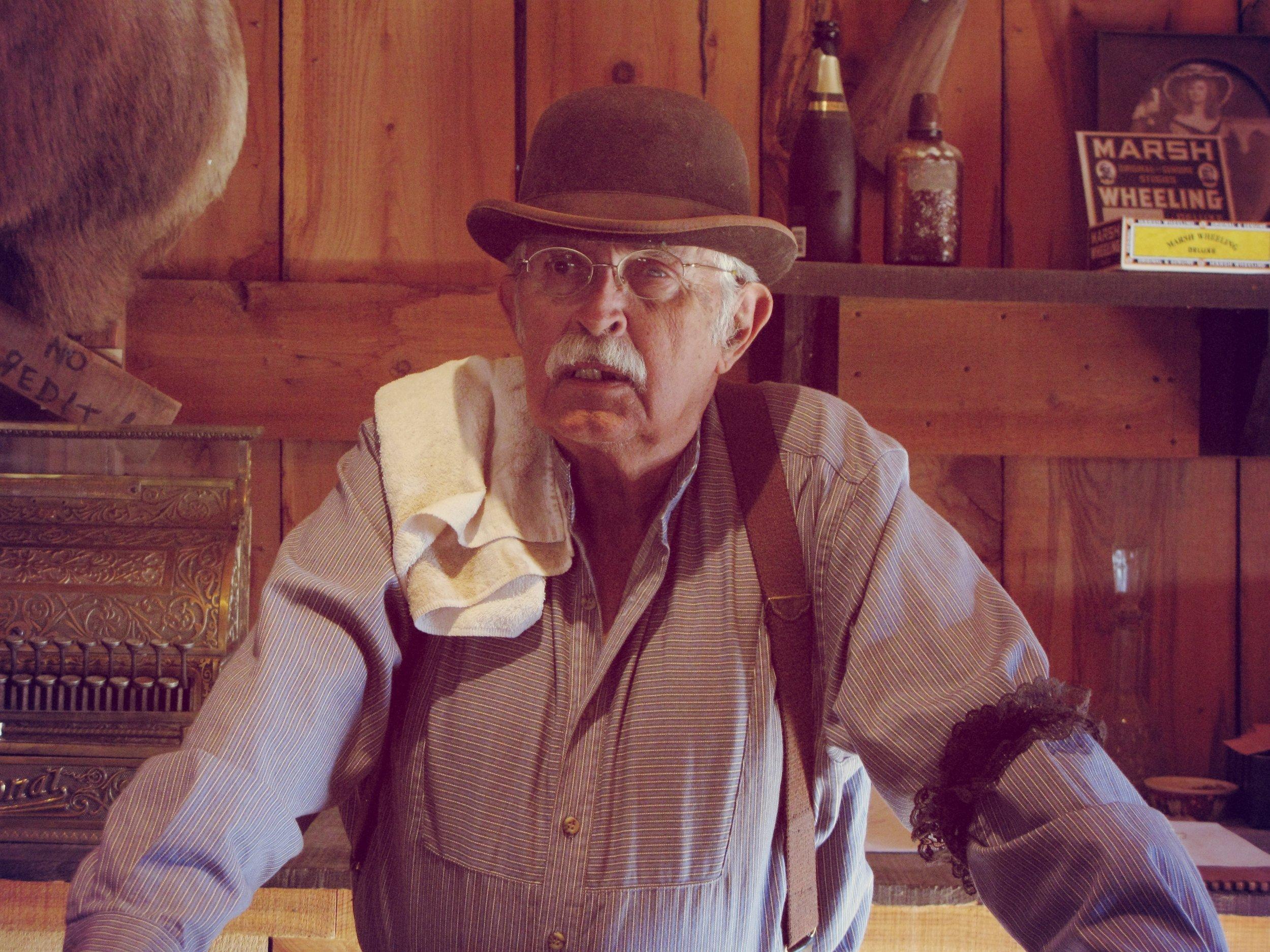 Jay Gammon as Barman Miller
