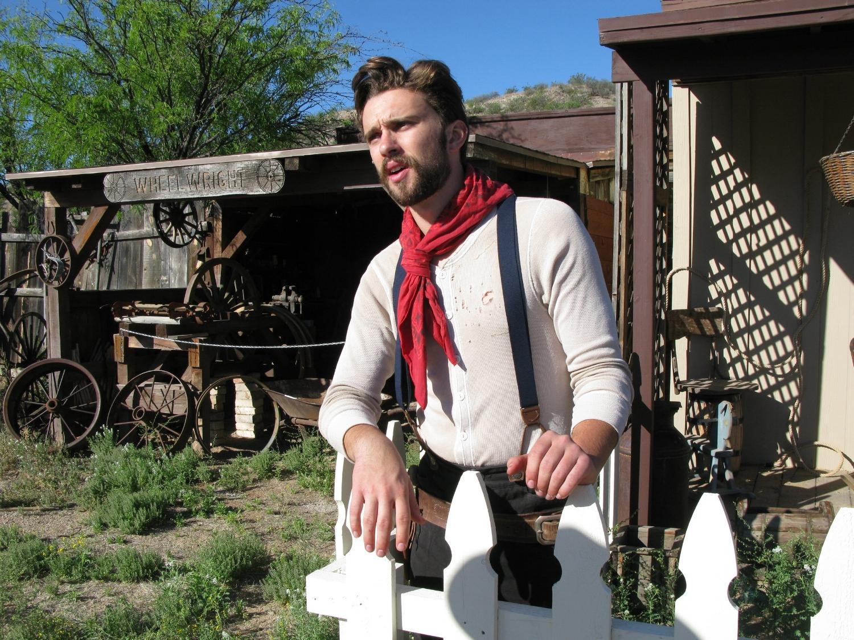 Hayden Wilson as Ace Lockhart in Vermijo