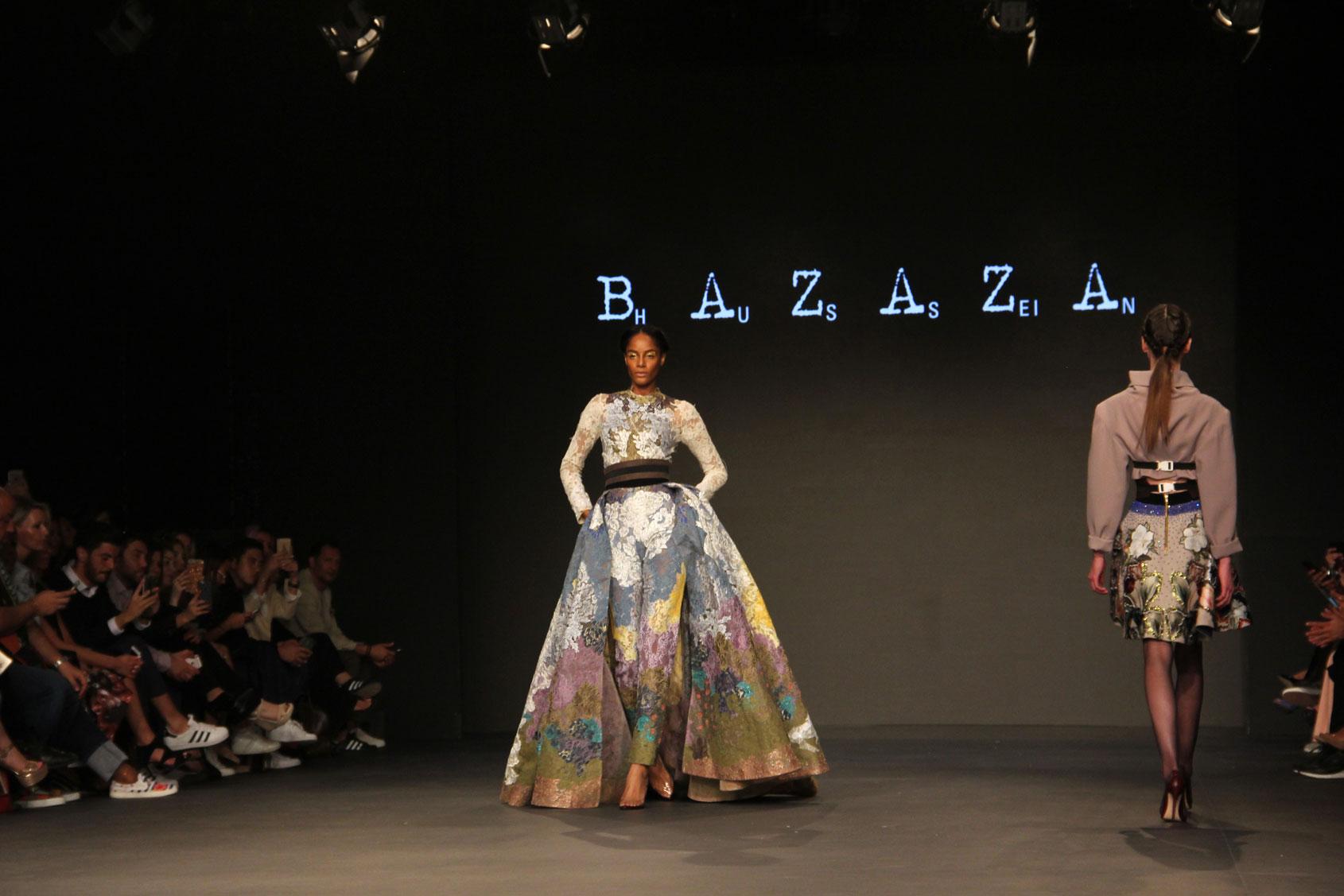 Hussein Bazaza Lace Dress 2016