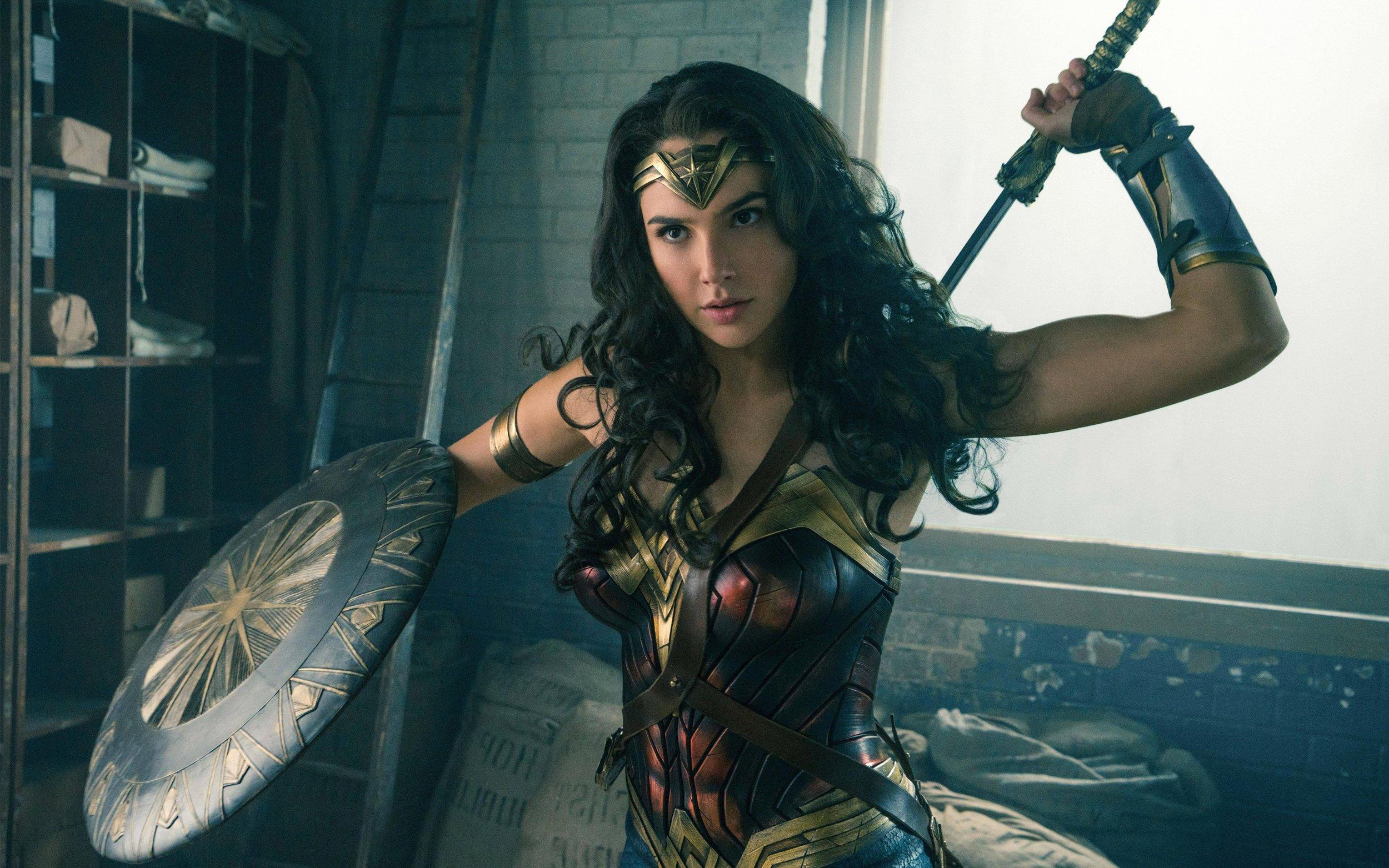 Gal Gadot in Wonder Woman. Photo: Warner Bros.