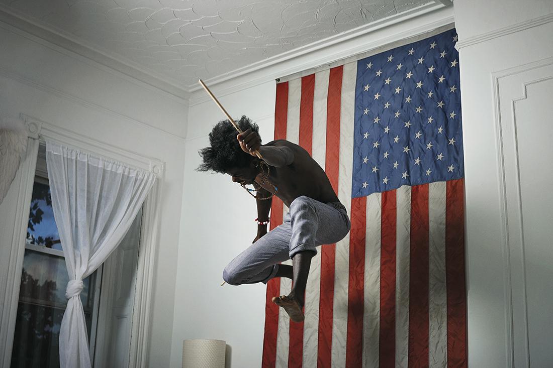 Pauli 'The PSM'.Gorillaz / Damon Albarn. Photographed at home, New York.