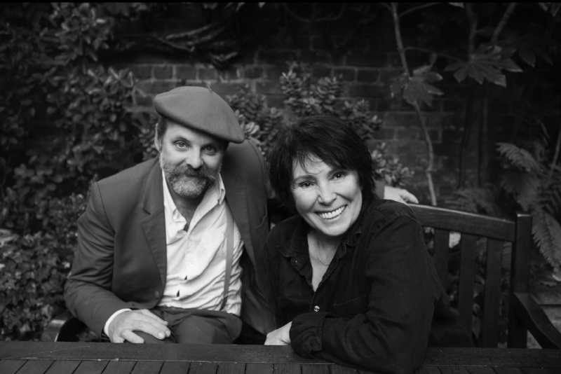 Gavin Turk and Nancy Fouts. Photo: Nicole Nodland.