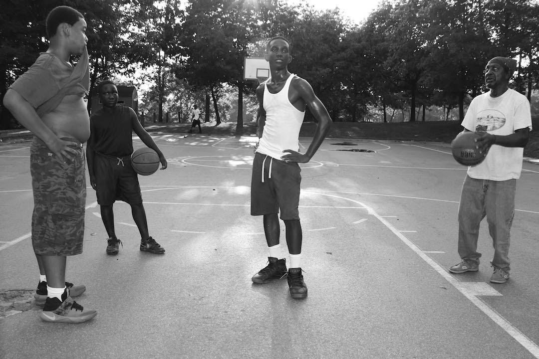 ©Caleb Stein, Market St. Basketball Court.