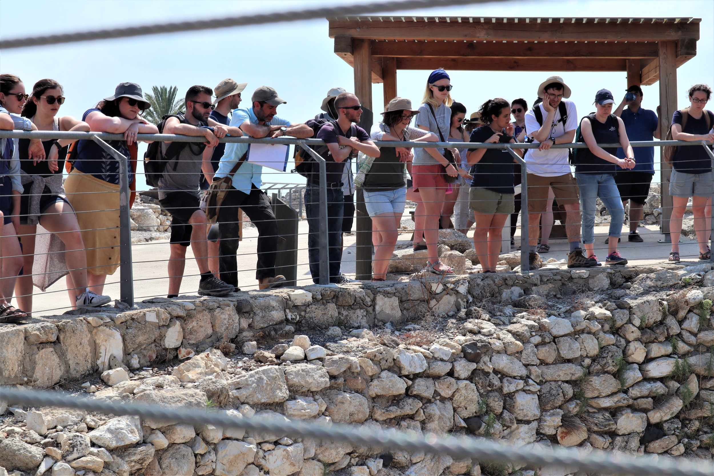 Touring Megiddo
