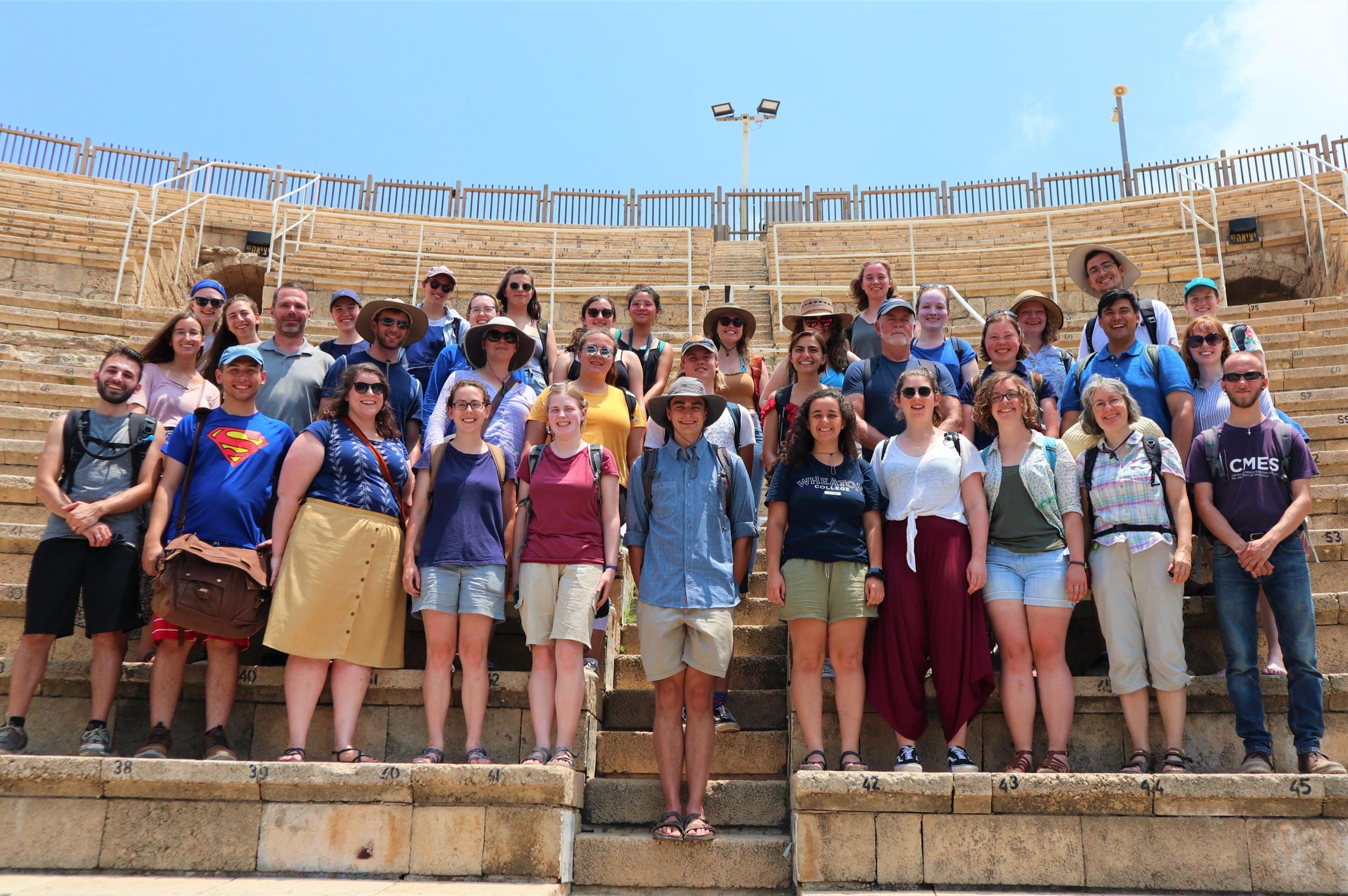 The theatre at Caesarea