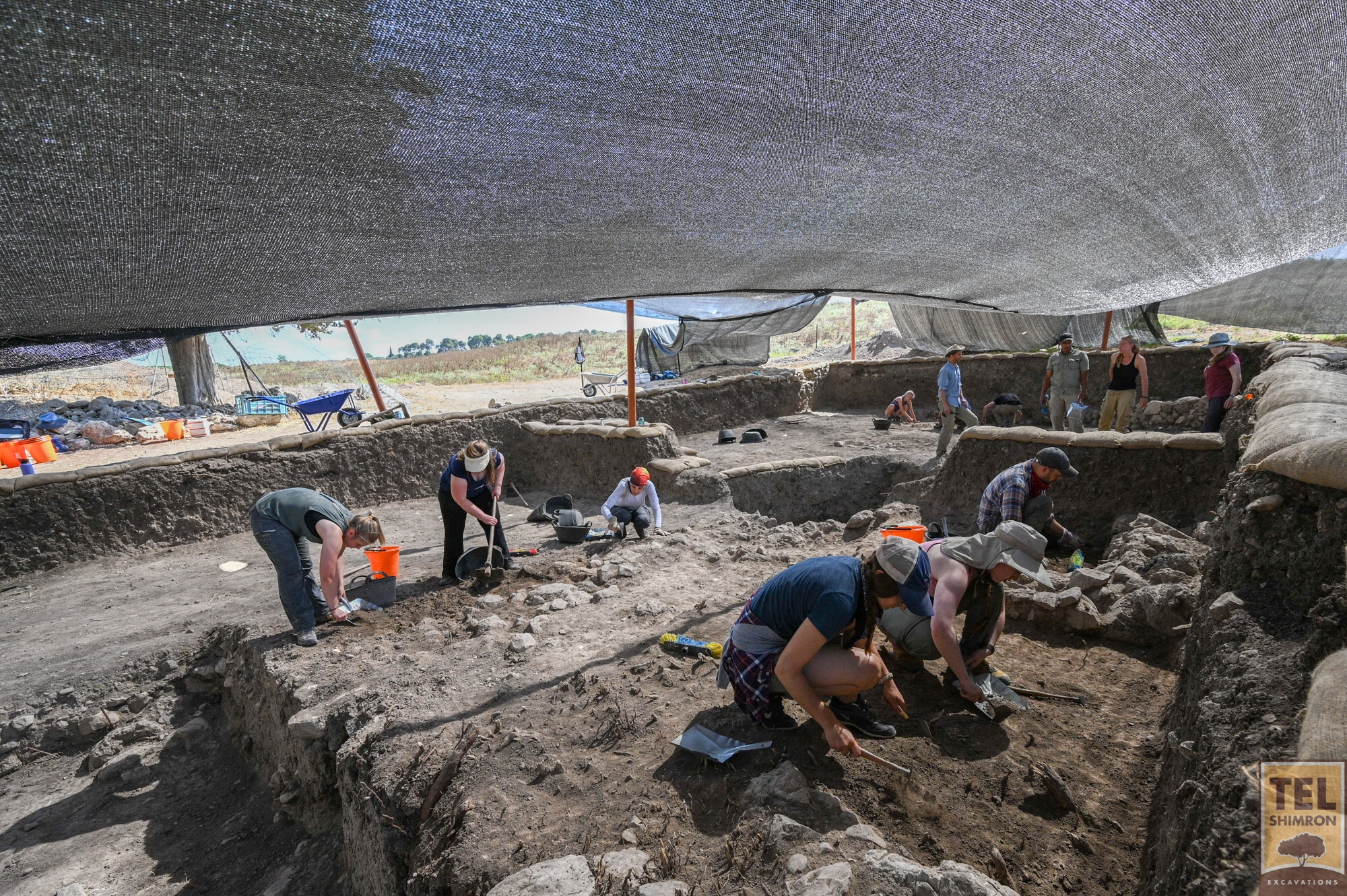 Excavation in Grid 92