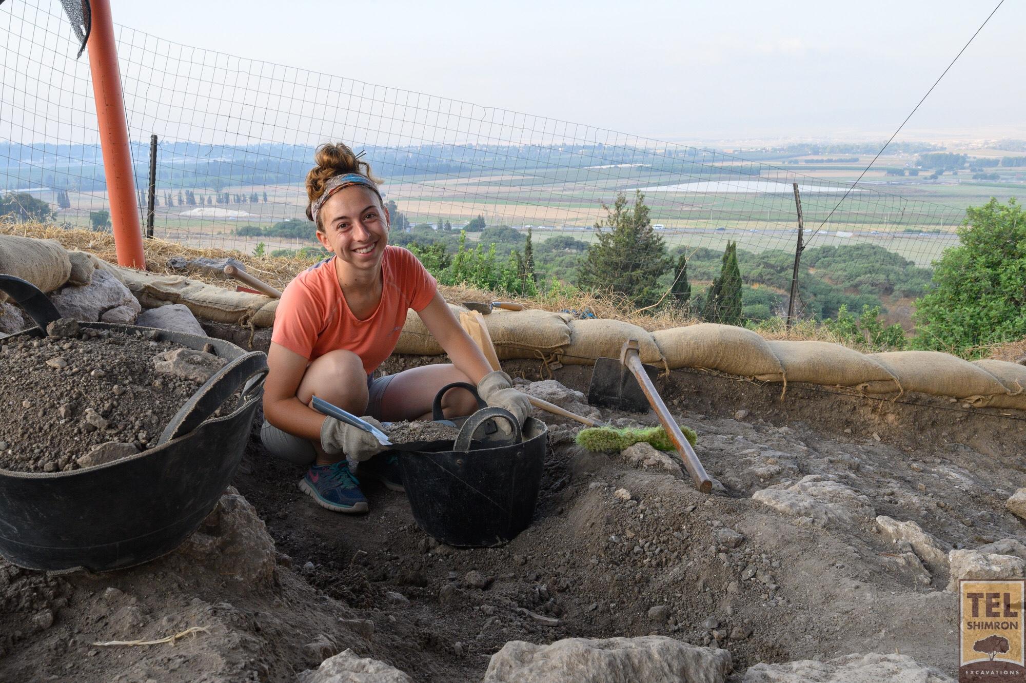 Excavating in Grid 33